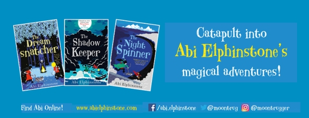 Abi Elphinstone Facebook Banner