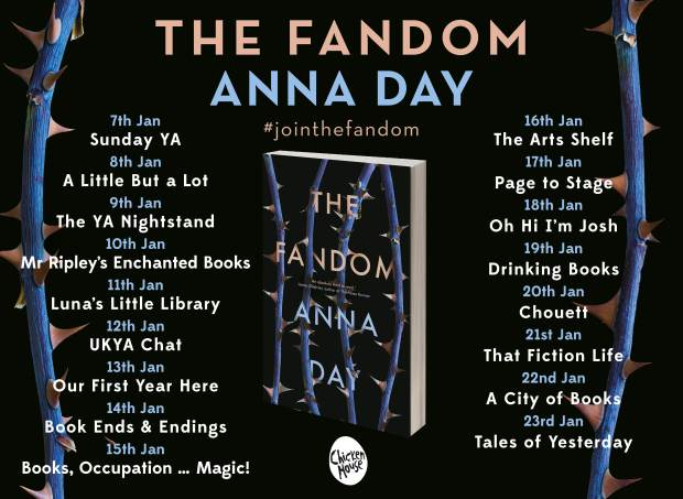 Fandom blog tour banner
