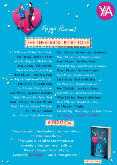 Theatrical blog tour