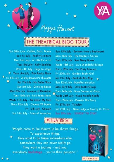Theatrical blog tour