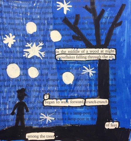 Blackout poetry – alittlebutalot