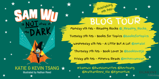 DARK - sam wu blog tour egmont