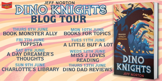 Dino Knights Blog Tour Poster