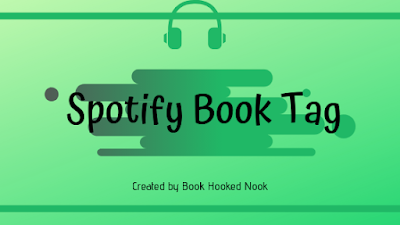 Book Hooked Nook's Spotify Book Tag banner
