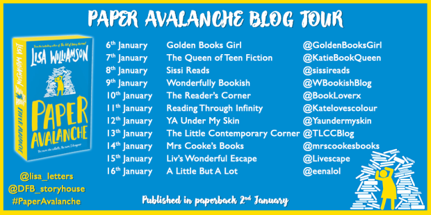 Paper Avalanche blog tour banner