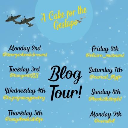 cake insta blog tour