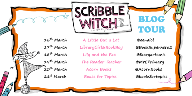 scribble witch blog tour 2