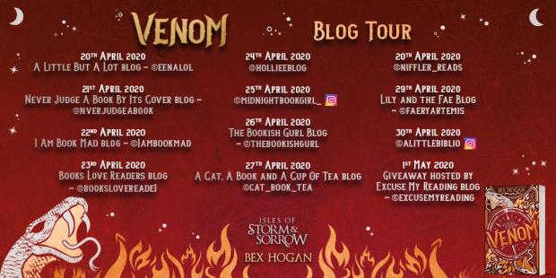 VENOM - Blog Tour asset