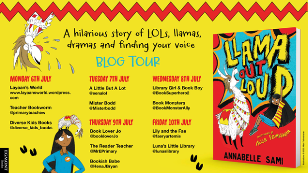 Llama Blog Tour - Twitter